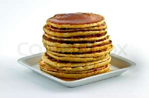 Bancakes with suryp nutritional value