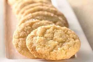 Μπισκότα ζάχαρης με βανίλια (εμπορίου) θερμιδικη αξια