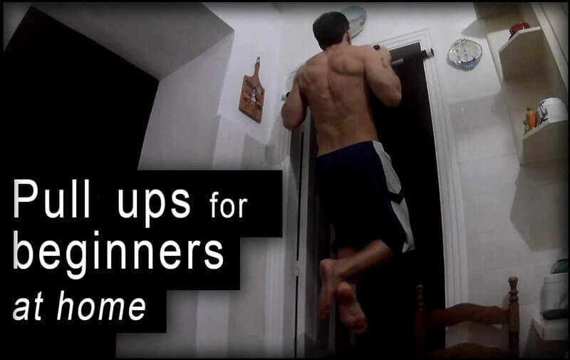 Pull ups for beginners at home