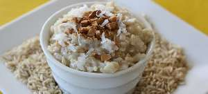 Rice pudding nutritional value