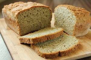 Bread, gluten-free, whole grain, made with tapioca starch and brown rice flour: Nutritional value, calories, vitamins and all the ingredients