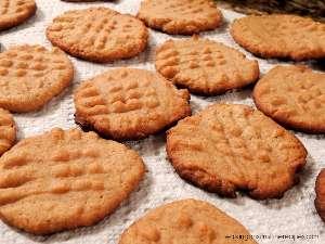 Μπισκότα με φυστικοβούτυρο θερμιδικη αξια