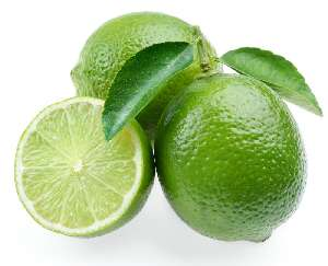 Lime nutritional value