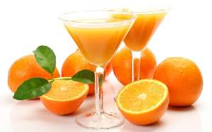 Orange juice nutritional value