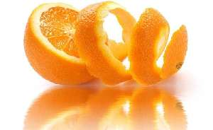 Orange with peel nutritional value