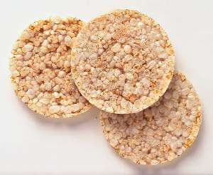 Rice cake (Plain) nutritional value