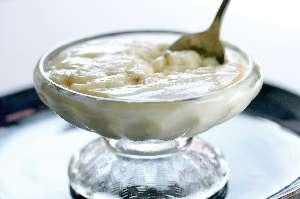 Vanilla pudding (0% fat) nutritional value