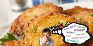 potato pancakes fat