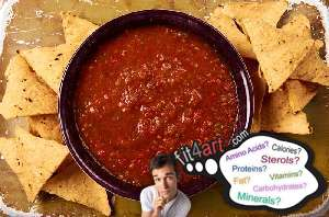 how many carbs are in a salsa sauce