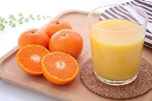 what fat is in a tangerine juice