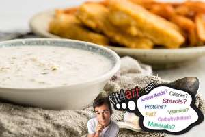 how many calories are in a tartar sauce
