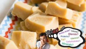 what minerals are in a vanilla fudge with nuts