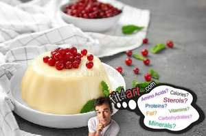 what sterols are in a vanilla pudding