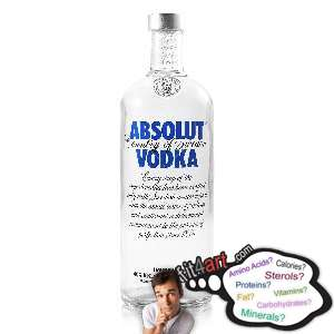 how many calories are in a vodka